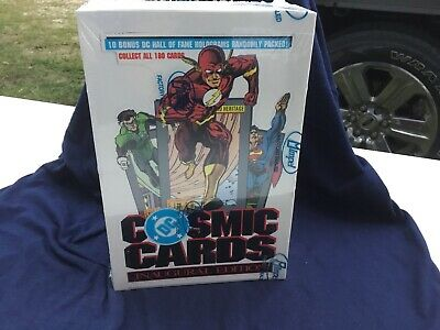 1991 Impel Dc Comics Cosmic Cards Inaugural Edition Factory Sealed Box*