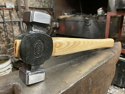Blacksmith square faced rounding Hammer 3 1//2 lb weight
