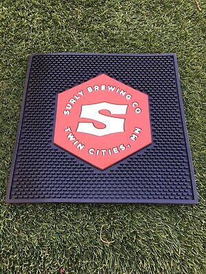 SURLY BREWING minnesot darkness todd axeman METAL TACKER SIGN craft beer brewery