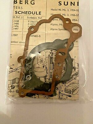Stromberg Carburettor GASKETS  AND  SCHEDULE  DI DIV DIF
