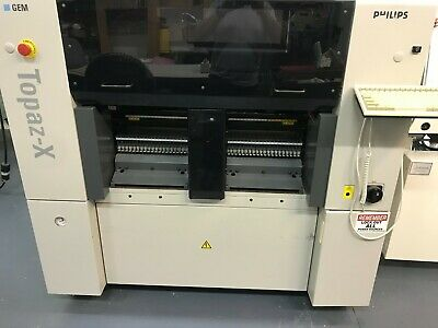 Philips Assembleon Topaz, GEM Series Pick and Place Machine,