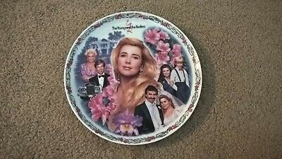 The Young /& The Restless Collector Plates CRESTLEY COLLECTION #1-8 1993 RARE OOP