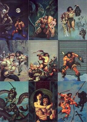 Conan Series 2 Complete 90 All Chromium Trading Card Set COMIC IMAGES 1994