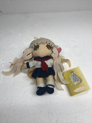 "Tags Chii in Sailor Uniform UFO Catcher 7.5"" Plush Toy Chobits"