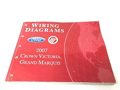2007 Ford Crown Victoria Grand Marquis Wiring Diagrams Electrical Service Manual 43 60 Picclick