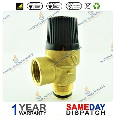 Ideal Mini HE C24 C28 /& C32 Boiler Pressure Relief Safety Valve 172494 NEW