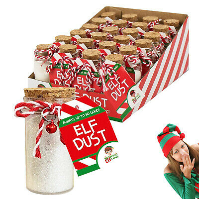 Elf Accessories Props Elf dust mates On Shelf Advent Toy Christmas Game Jokes