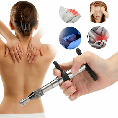 6 Level Chiropractic Adjusting Gun Therapy Spine Activator Correction Massage CE