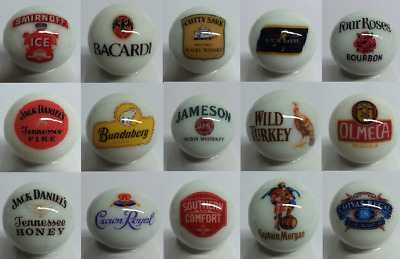 Very Nice Set of 6 Dukes of Hazzard Glass Advertising Marbles