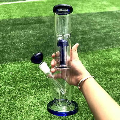 14inch Hookah Water Pipe 14MM Glass Smoking Bong Beaker Bubbler w/ ICE catcher