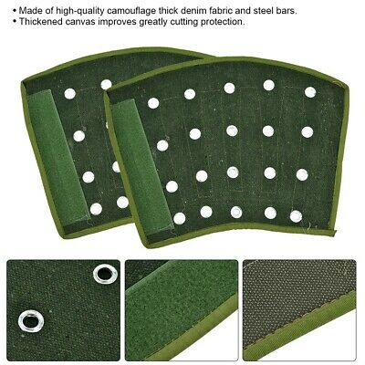 Average Sized Reusable 1 Pair Thickened Arm Sleeve Guard Green Anti-Cutting
