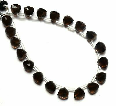7.5mm Approx. Smoky Quartz Faceted Box Beads 8 Inch Smoky Necklace Smoky Quartz Cube Beads Smoky Quartz Beads 30 Pieces