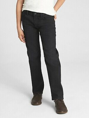 Gap Kids Boys Black Slim Stretch fit Denim Jeans Trousers 4 5 6 7 8 10 12 14