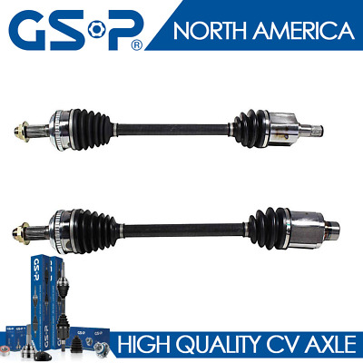 New Complete Front CV Joint Axle Shaft Assembly Set Pair 2pc for 12-15 Pilot