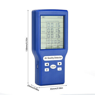 Gas Detector Multifunctional 5V 1A Combustible Gas Monitor High Sensitivity