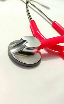 Stethoscope New Professional Best Quality Pink Color Tubing Light Weight