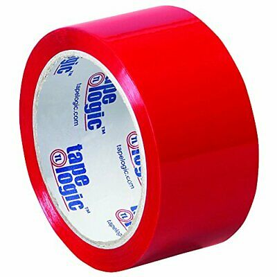 Tape Logic 2 Inch x 55 Yards Red Packing Tape 2.2 Mil Thick Pack of 36 Rolls ...