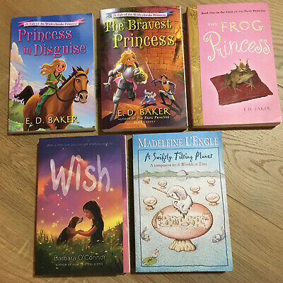 Chapter Books Lot of 5 Girls Theme Paperback Youth Readers