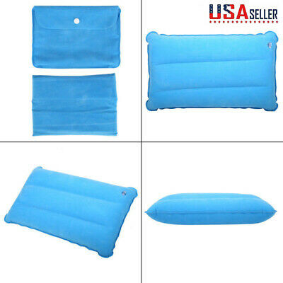 Portable Inflatable Lightweight Airplane Pillow Cushion For Hiking Camping
