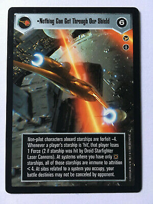 Star Wars CCG Theed Palace Naboo Celebration NON-MINT SWCCG
