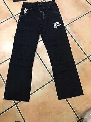 Boys Age 11 New Black Jeans And Penguin Polo Shirt Black Mix Size
