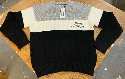 Le Tigre Sweater Men/'s Mod 80/'s 60/'s 100/% authentic knit New with Tags ALL SIZES