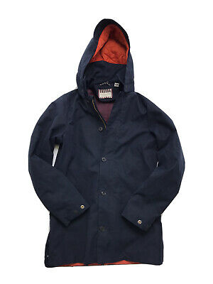 Scotch Shrunk Boys Blue Hooded Jacket Coat Size 14 Orig.$189