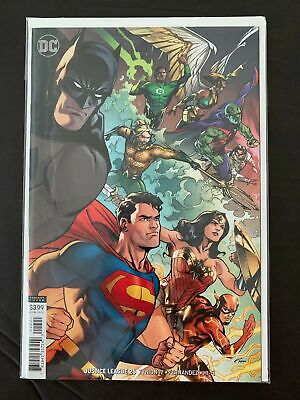 Justice League #26 2019 Choice of Main or Emanuela Lupacchino Variant Cover NM