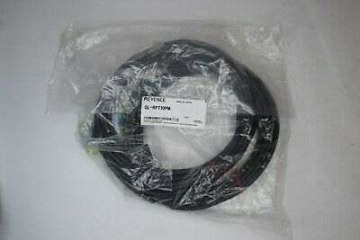 NEW Keyence Light Curtain Safety Censor Cable SET GL-RPT10PM 2 Cables in Bag