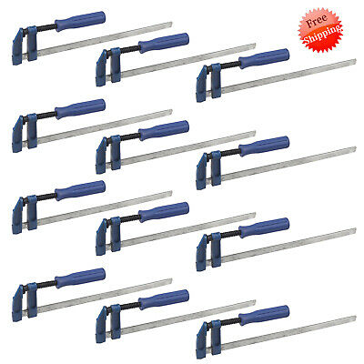 """12X//Set F Clamps Bar Clamp Heavy Duty 12/"""" Long Quickly Slide Wood 300mm x 50mm"""