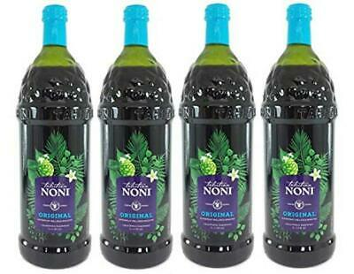 The Original Authentic TAHITIAN NONI Juice by Morinda (4PK Case), 1 liter