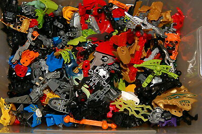 Hero Factory Lot of 1 Pound Bulk Mixed lb pieces /& parts LEGO Bionicle