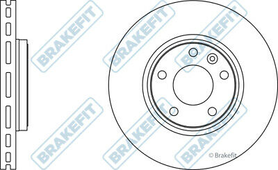 Pair Vented fits RENAULT TRAFIC Mk2 1.9D Front 2001 on 305mm 2x Brake Discs