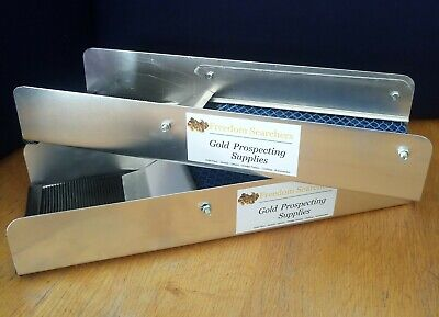 "15"" Gold Sluice box fine gold nugget recovery panning"