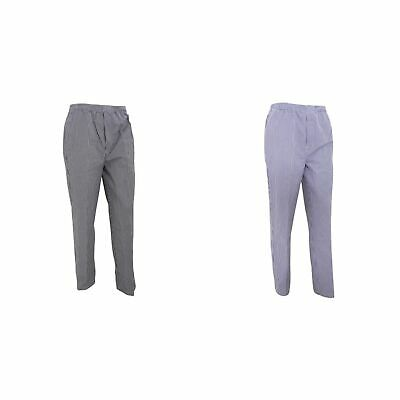 Premier Unisex Mens /Womens Pull-on Chefs Trousers /Pants Chefswear (RW1106)
