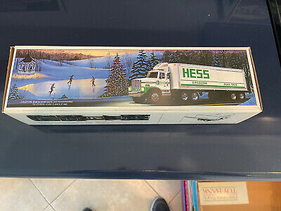 1987 HESS Toy truck bank.  New in box