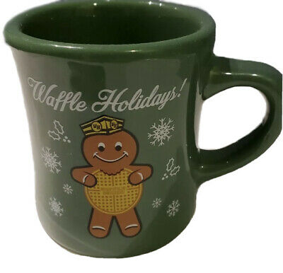 Lot Of 6) 🩸🩸WAFFLE HOUSE 2016 Christmas Mugs. New / Collectible.
