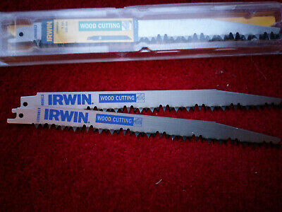 5 Irwin Wood Timber Reciprocating Sabre Saw Blades fit Hilti Makita Dewalt +more