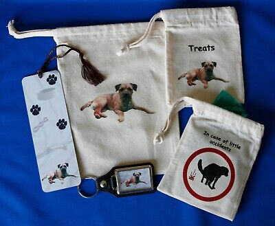 Border Terrier Pet Owners Gift Set