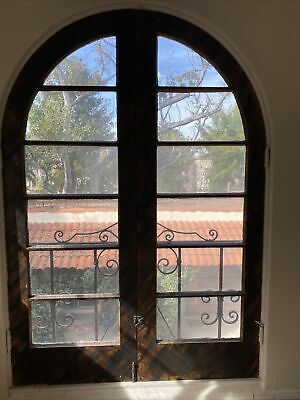 Spanish Revival Arched French Doors 77.5x53.5