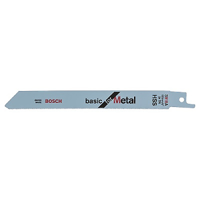 5 Pack S918A Bosch Sabre Saw Blades Basic for Metal 150mm x 24tpi Blade