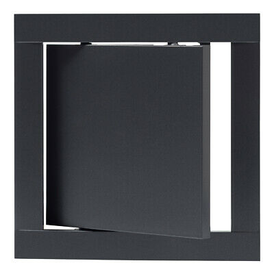 Anthracite Access Panel 150mm x 150mm ABS Plastic Flam Inspection Hatch Door