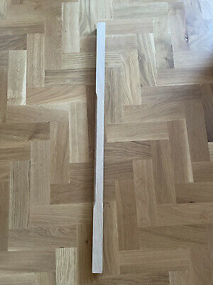 Solid White Oak 900mm Fluted Stop Chamfer Spindle 41x41mm