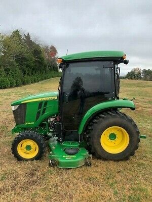 """2017 JOHN DEERE 3046R 4x4 deluxe CAB with 72"""" belly mower"""
