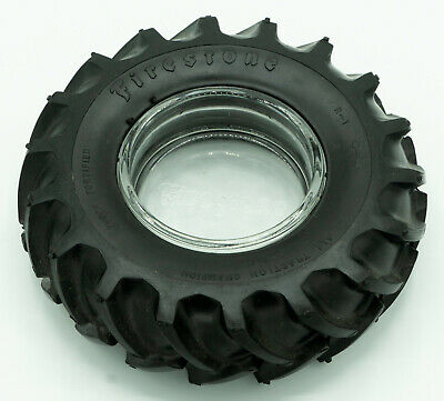 Firestone Tire Ashtray - All Traction Champion - excellent vintage condition