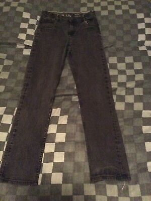Matalan Black Essential Slim Leg Jeans Boys Age 13