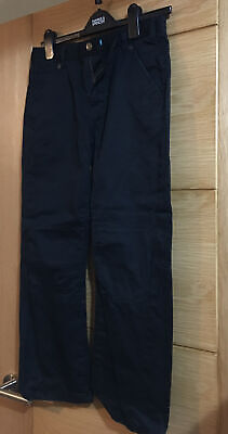 M&S Boys Black Denim Jeans Age 12-13 Years s3