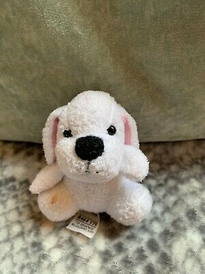Cute White Puppy Bag Dangle/Keyring from M&S
