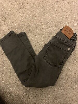 Boys NEXT skinny Jeans Black Grey 2-3 Years
