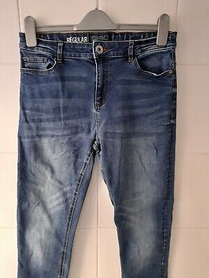 Boy's 'Next' Regular Fit, Blue Jeans. Age : 15 Years